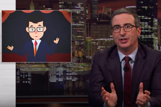 John Oliver on Doppelgänger in China Family Planning PSA: 'Basically a Copyright Infringement' (Video)