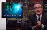 John Oliver talks about the weather