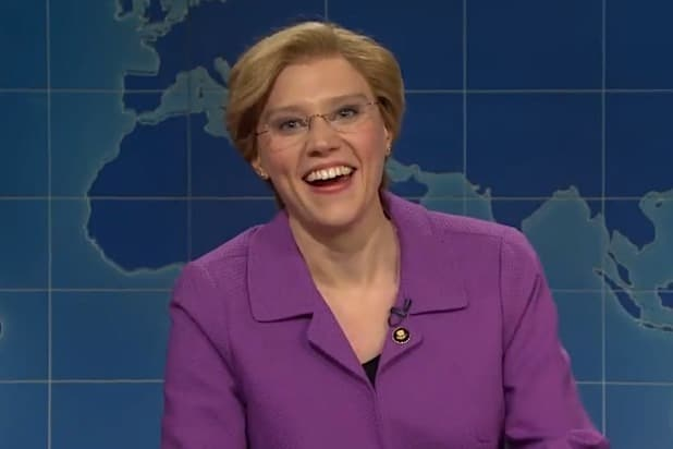 Christmas Miracle Snl.Snl Kate Mckinnon S Elizabeth Warren Mocks That Fake Sex