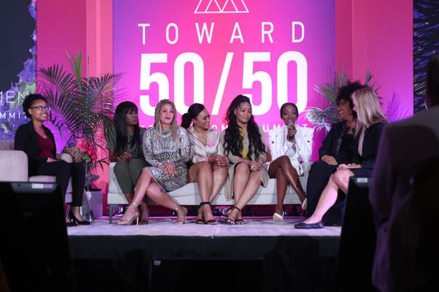 R. Kelly survivors at the Power Women Summit 2019