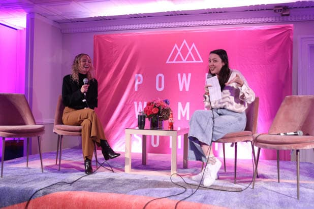 Nicole Richie and Sophia Rossi at the Power Women Summit 2019