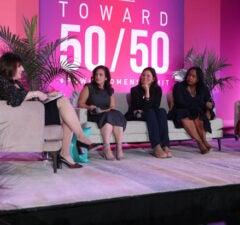Nancy Josephson, Jennifer Caserta, Cara Stein, Alicin Reidy Williamson and Dalana Brand at the Power Women Summit 2019