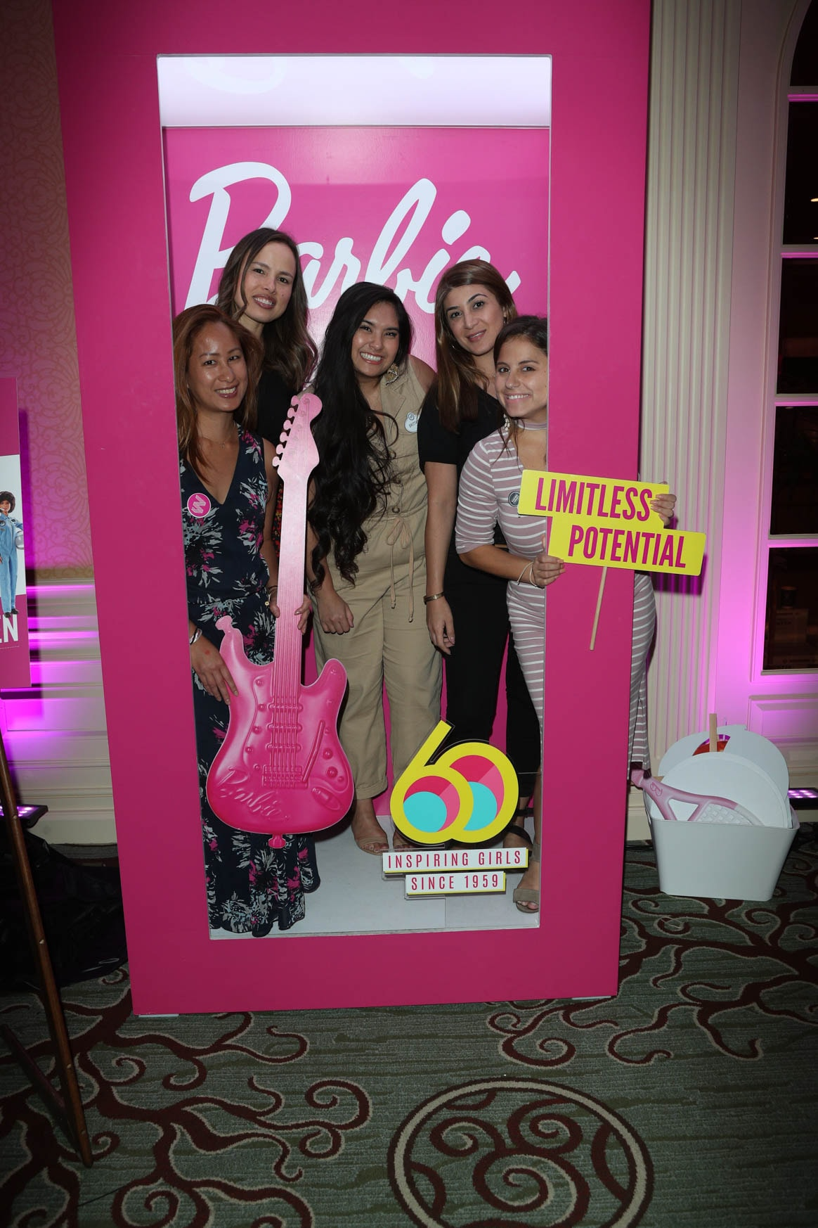 Mattel's Barbie activation at the Power Women Summit 2019