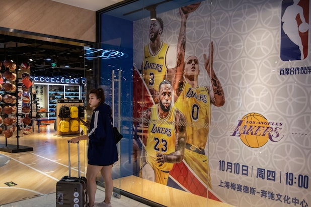 LA Lakers Media Events Are 'Postponed' in China, Exhibition Game Versus Nets Hangs in the Balance