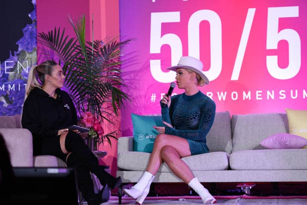 Lauryn Evarts Bosstick and Gigi Gorgeous at the Power Women Summit 2019