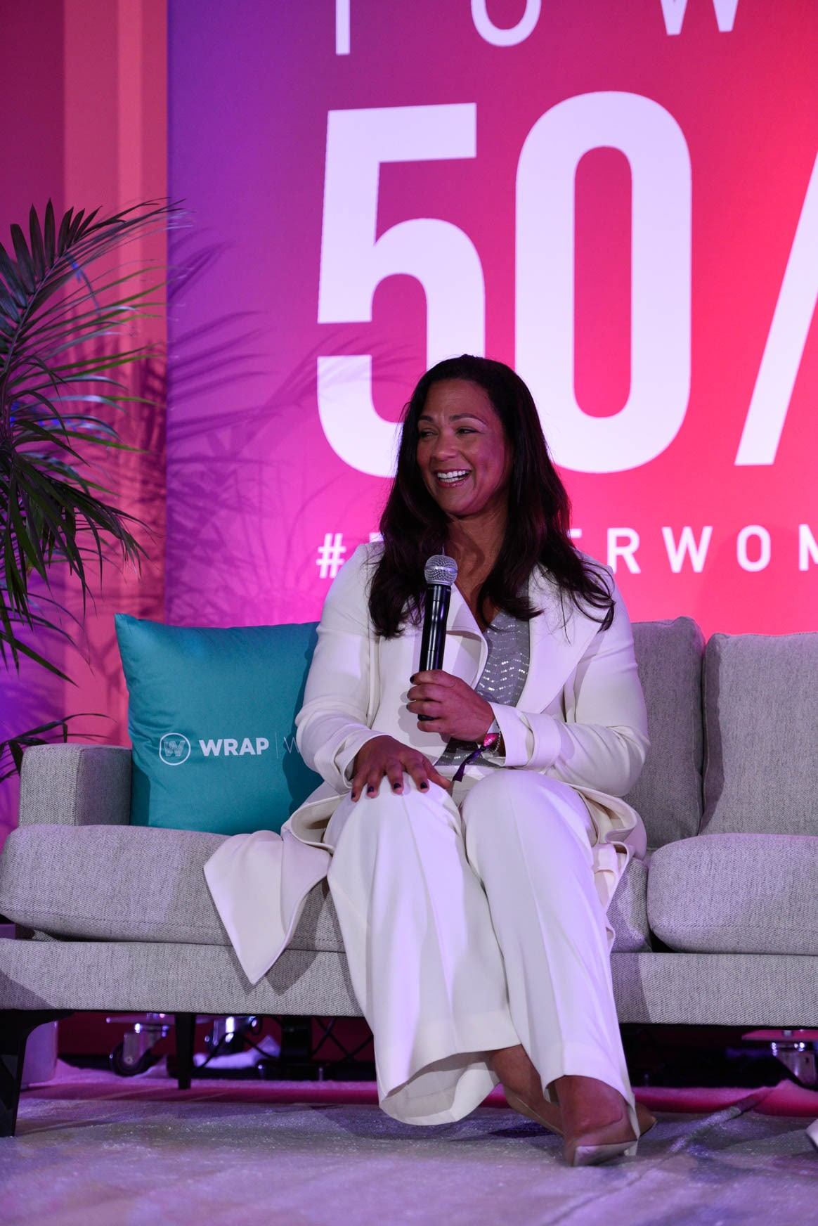 Aimee Allison at the Power Women Summit 2019