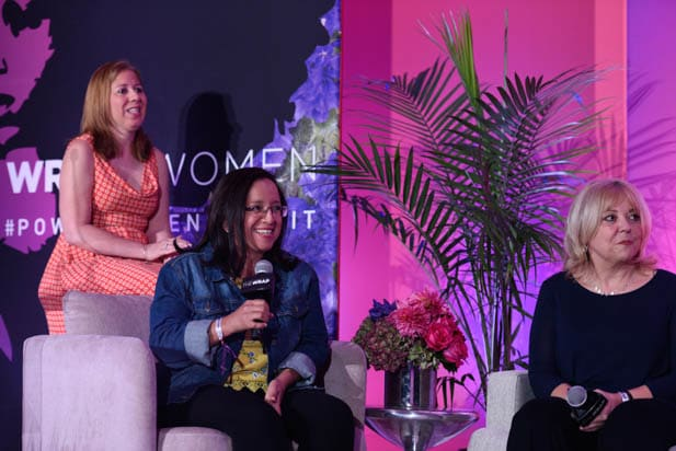Lucía Pineda and Liz Sly at the Power Women Summit 2019