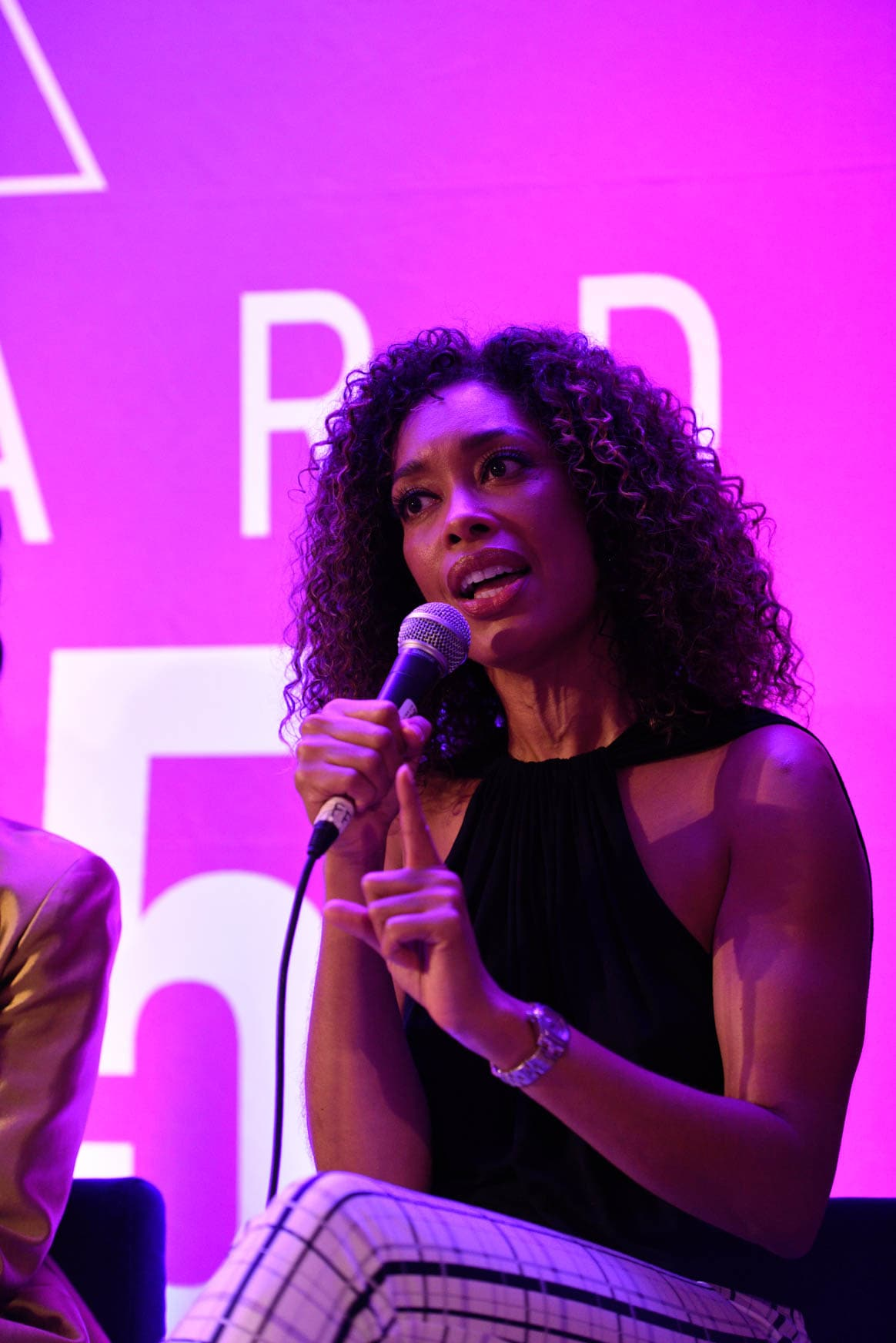 Gina Torres at the power women summit 2019