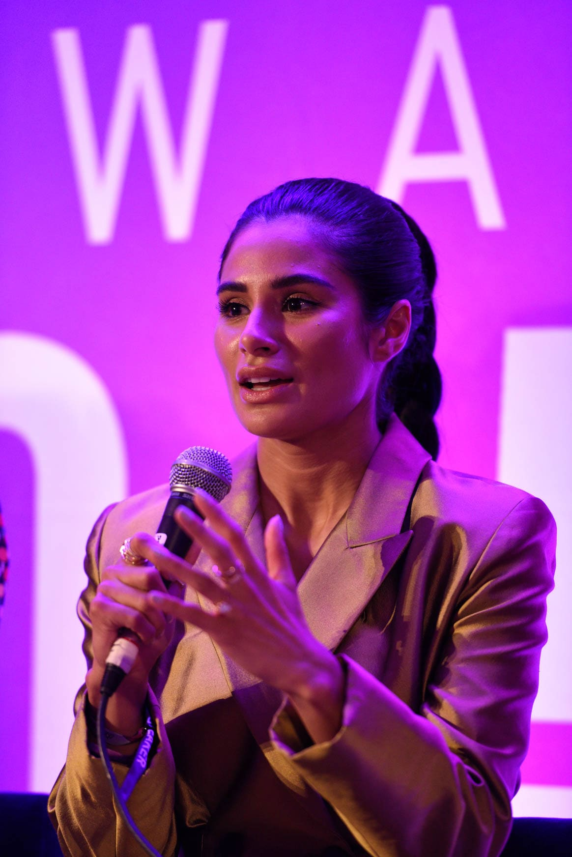 Diane Guerrero at the power women summit 2019
