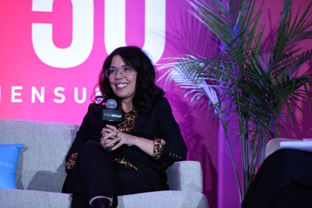 Sarah Barnett at the Power Women Summit 2019