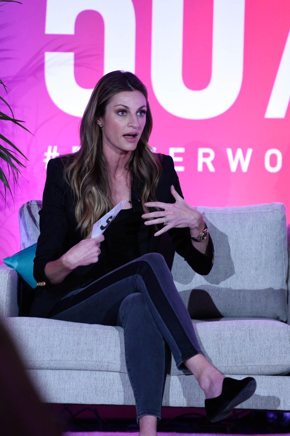 Erin Andrews at the power women summit 2019