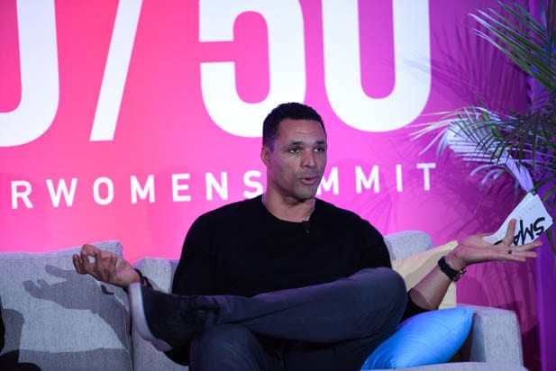 Tony Gonzalez at the power women summit 2019