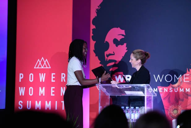 Crystal Kayiza and Alison Hoffman at the Power Women Summit 2019