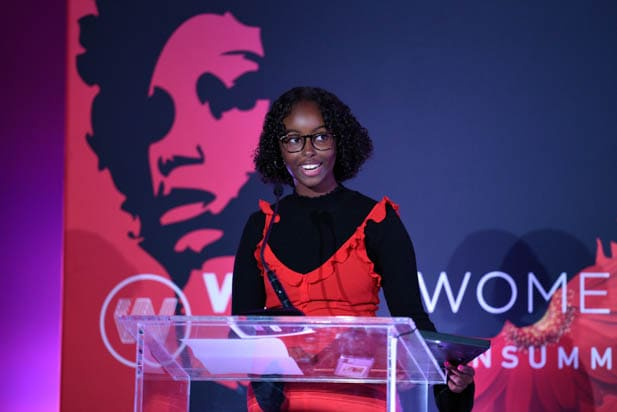 Isra Hirsi at the power women summit 2019