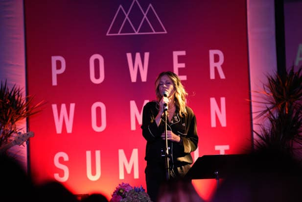 Rita Wilson at the Power Women Summit 2019