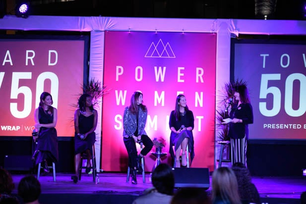 Starz filmmakers at the power women summit 2019