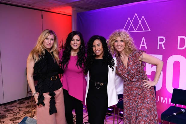 Bianca de la Garza, Cindy Eckert, Sahar Saidi and Gail Becker at the power women summit 2019