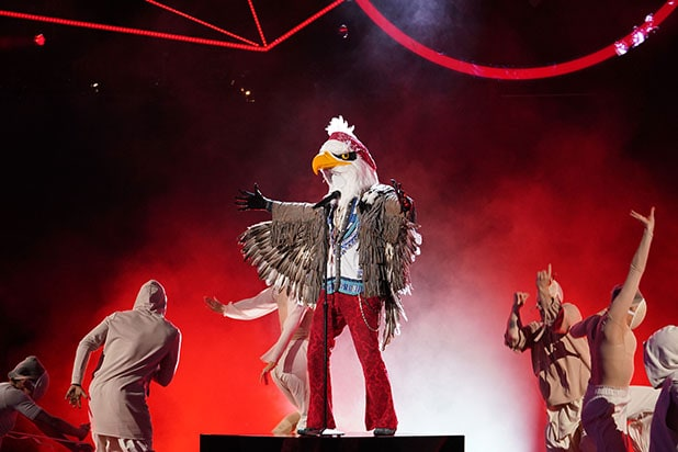 Masked Singer`: Eagle on Those *So Close* Judge Guesses, How That Fing Costume Altered Plans