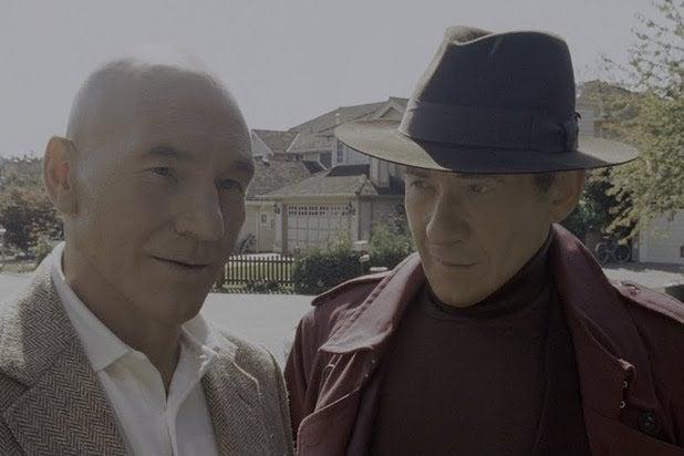 Patrick Stewart Ian McKellen The Last Stand De-Aged