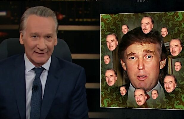 Bill Maher Donald Trump Bribe to resign