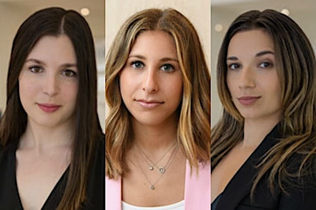 icm partners promotes trio to agency ranks CHARLOTTE LICHTMAN BRITTANY PERLMUTER VICTORIA GUTIERREZ