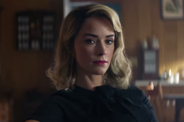 Abigail Spencer and Her Fantastic Wig Join a Gang in First Teaser for Hulu Thriller 'Reprisal' (Video)