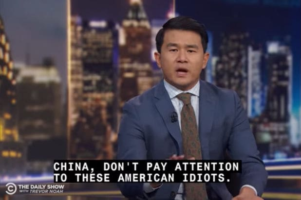 Ronny Chieng The Daily Show China Censorship
