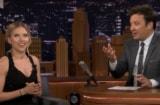 Scarlett Johansson Jimmy Fallon Jojo Rabbit