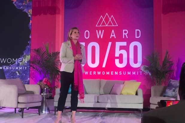 Sharon Waxman at the Power Women Summit 2019