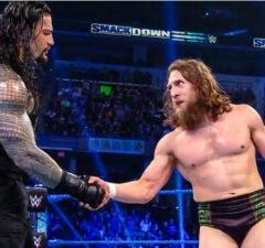 SmackDown: Roman Reigns and Daniel Bryan