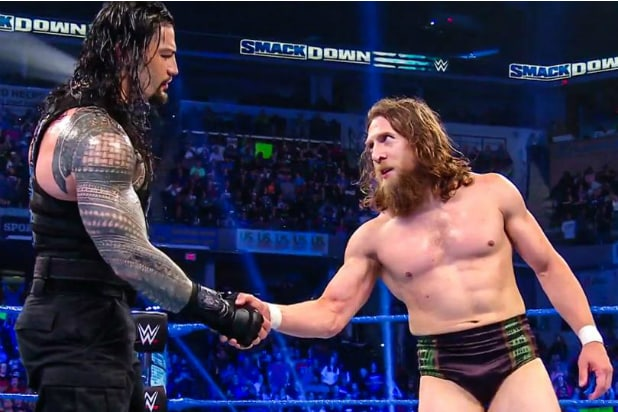 SmackDown: Roman Reigns and Daniel Bryan