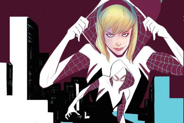 Spider Gwen - Edge of Spider-Verse Vol 2 Cover