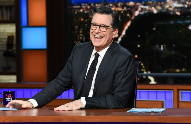 Stephen Colbert on 'The Late Show'