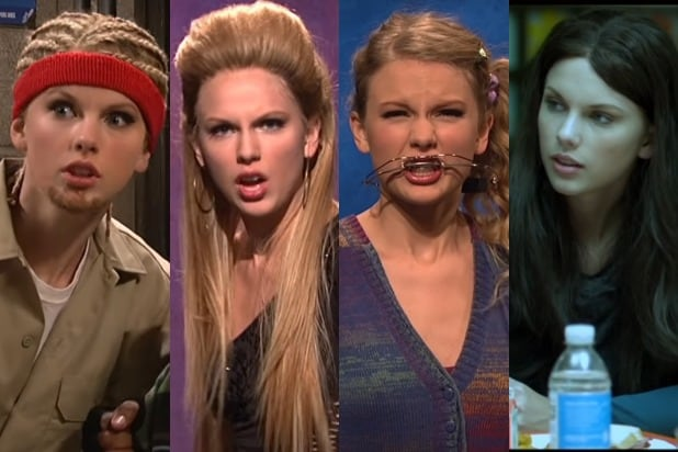 Taylor Swift SNL Characters