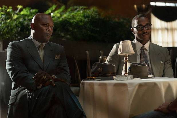 The Banker Samuel L. Jackson Anthony Mackie