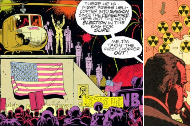 Watchmen Nixon How the HBO Series Ties Into Alan Moores Graphic Novel