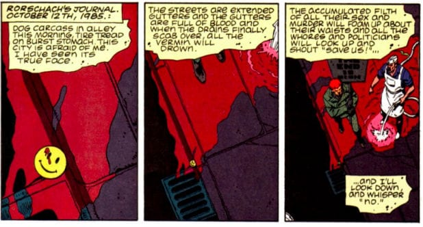 Watchmen Rorschach Journal How the HBO Series Ties Into Alan Moore Graphic Novel
