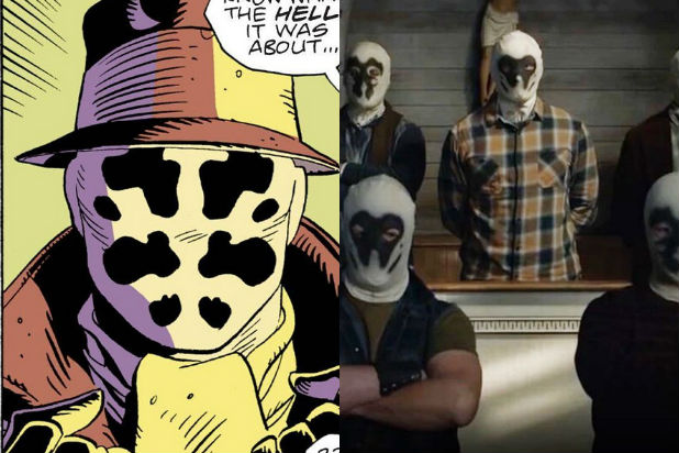 Watchmen Rorschach Seventh Cavalry How HBO Series Ties Into Alan Moore Graphic Novel