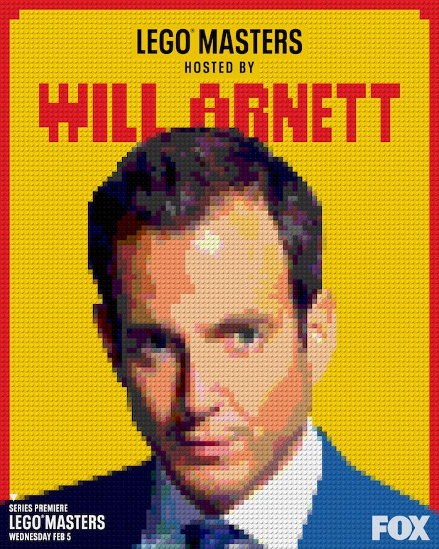 Will Arnett Lego Masters