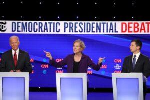 Joe Biden Elizabeth Warren Pete Buttigieg
