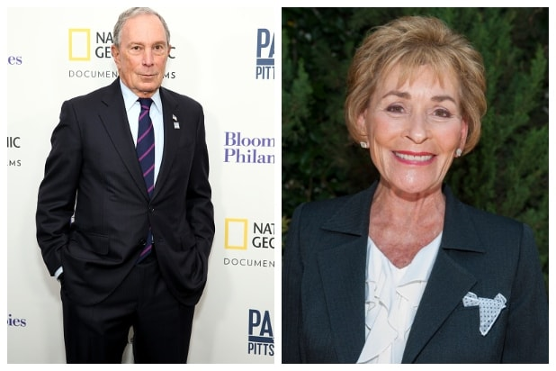 Judge Judy, Michael Bloomberg