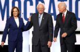 Kamala Harris Bernie Sanders Joe Biden