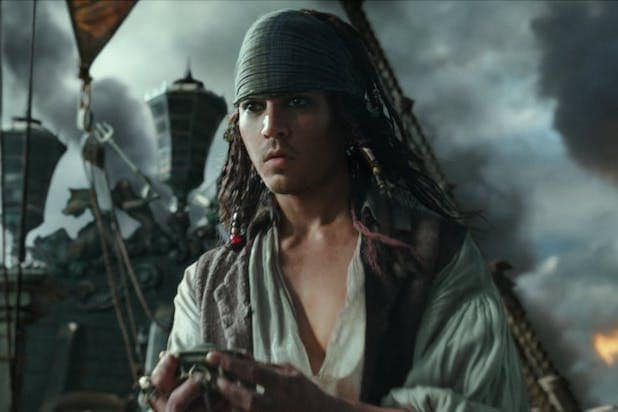 johnny depp pirates de aged
