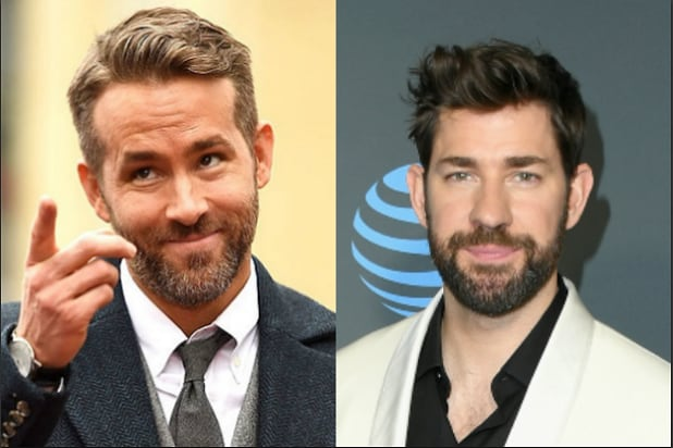 John Krasinski, Ryan Reynolds to Star in Comedy 'Imaginary