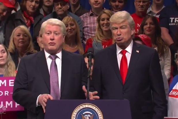 snl saturday night live darrell hammond bill clinton alec baldwin donald trump rally