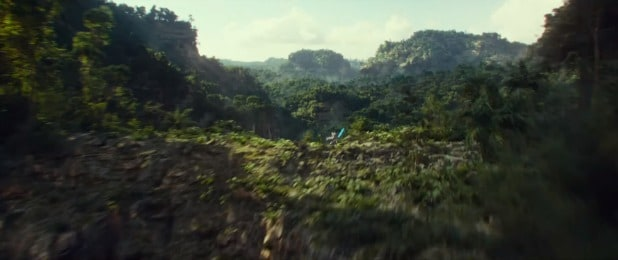 star wars episode ix the rise of skywalker jungle or forest planet