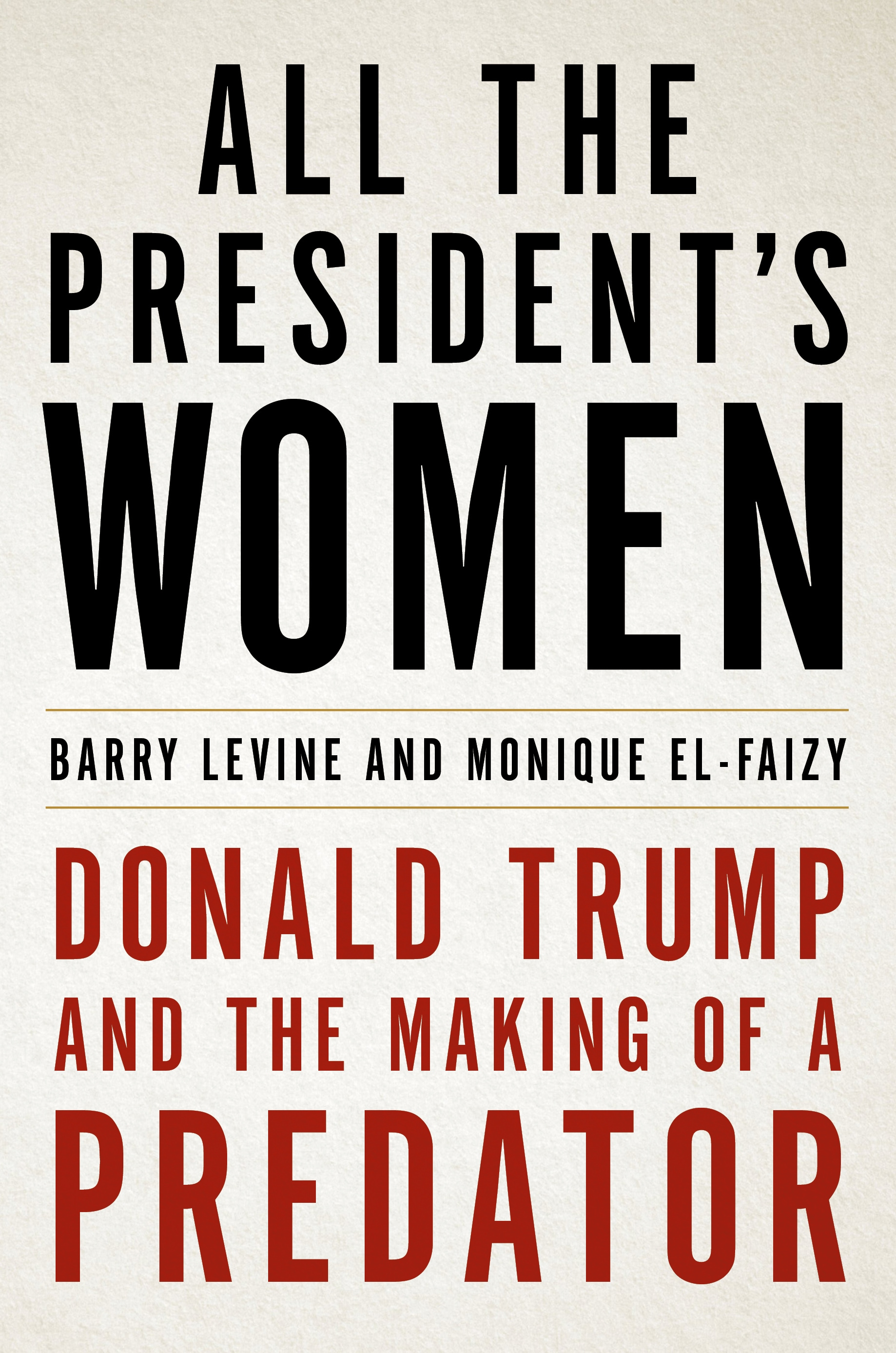 All the President's Women cover