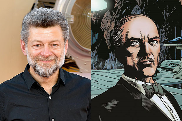 Andy Serkis Alfred Pennyworth The Batman