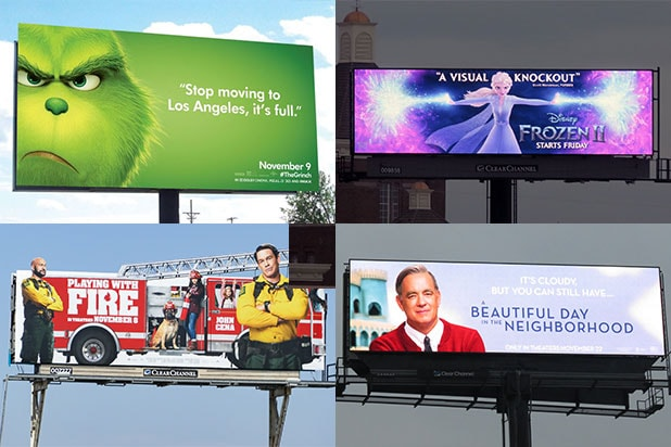 Los angeles billboards