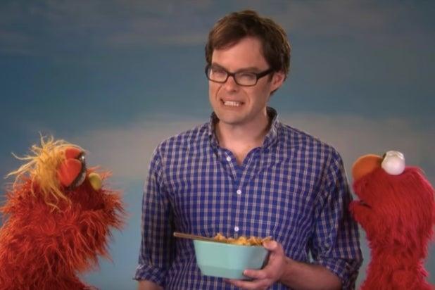 Bill Hader Sesame Street